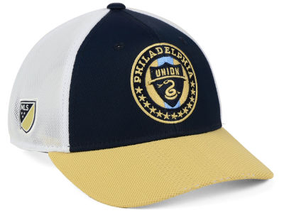 Philadelphia Union adidas MLS Authentic Mesh Adjustable Cap