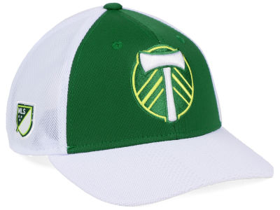 Portland Timbers adidas MLS Authentic Mesh Adjustable Cap