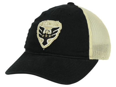 DC United adidas MLS Bleached Trucker Cap