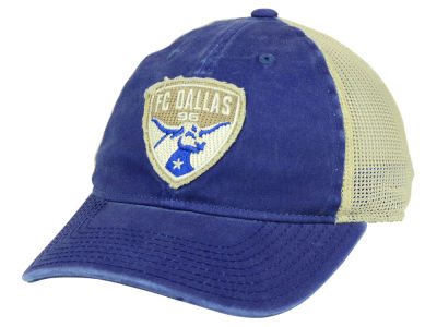 FC Dallas adidas MLS Bleached Trucker Cap