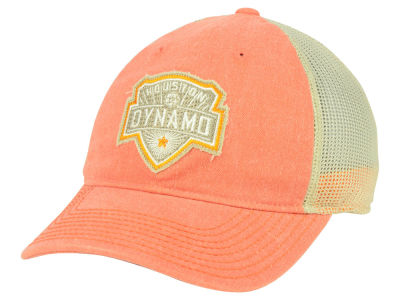 Houston Dynamo adidas MLS Bleached Trucker Cap