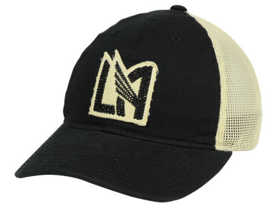 buy online a9049 54c66 Los Angeles Football Club adidas MLS Bleached Trucker Cap