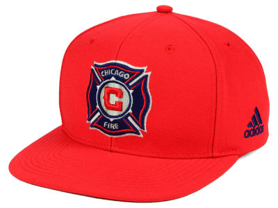 Chicago Fire adidas MLS Poly Snapback Cap
