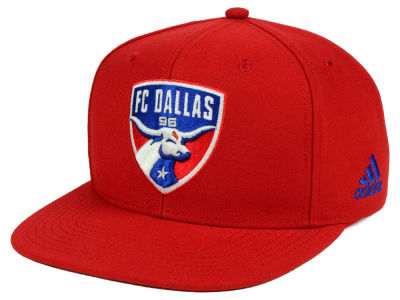FC Dallas adidas MLS Poly Snapback Cap