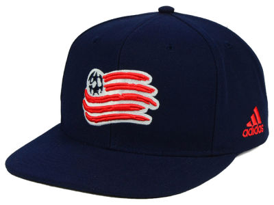New England Revolution adidas MLS Poly Snapback Cap