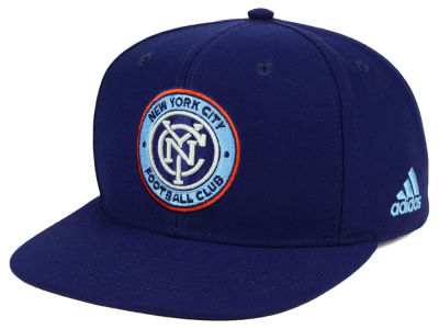 New York City FC adidas MLS Poly Snapback Cap