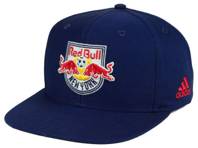 New York Red Bulls adidas MLS Poly Snapback Cap