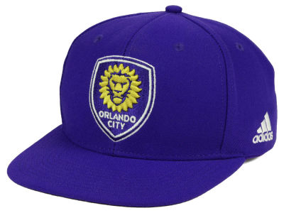 new product c5c82 50bba Orlando City SC adidas MLS Poly Snapback Cap