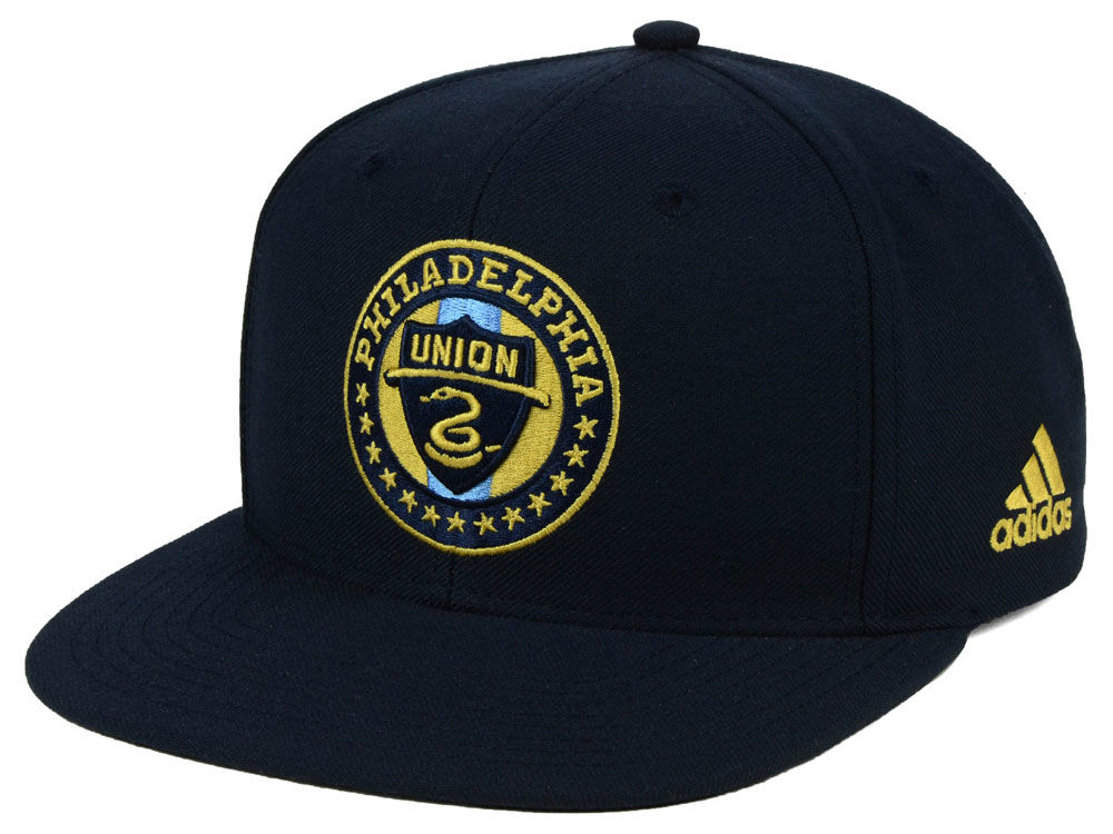 factory authentic 77cb1 72d90 ... germany philadelphia union adidas mls poly snapback cap 71138 ed09a