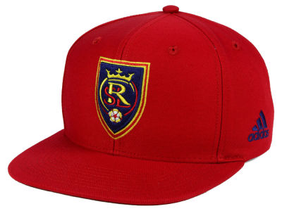 Real Salt Lake adidas MLS Poly Snapback Cap