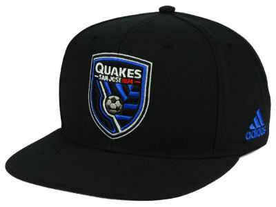 San Jose Earthquakes adidas MLS Poly Snapback Cap