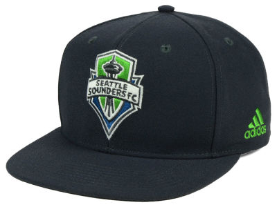 Seattle Sounders FC adidas MLS Poly Snapback Cap