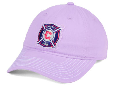 Chicago Fire adidas MLS Pink Slouch Cap