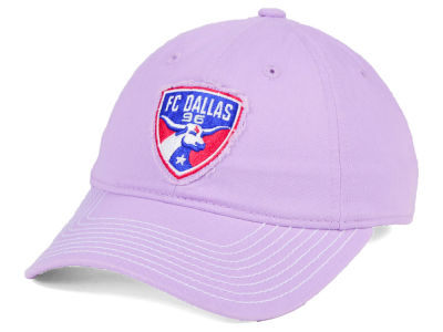 FC Dallas adidas MLS Pink Slouch Cap