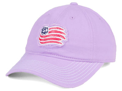 New England Revolution adidas MLS Pink Slouch Cap