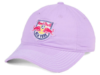 New York Red Bulls adidas MLS Pink Slouch Cap
