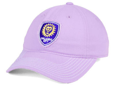 Orlando City SC adidas MLS Pink Slouch Cap