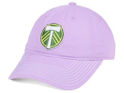 Portland Timbers adidas MLS Pink Slouch Cap