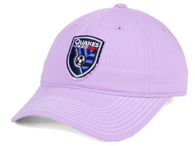 San Jose Earthquakes adidas MLS Pink Slouch Cap