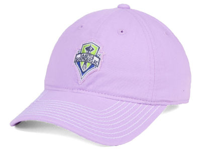 Seattle Sounders FC adidas MLS Pink Slouch Cap