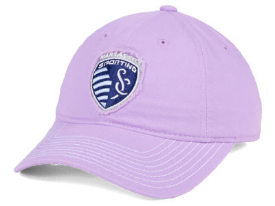 Sporting Kansas City adidas MLS Pink Slouch Cap