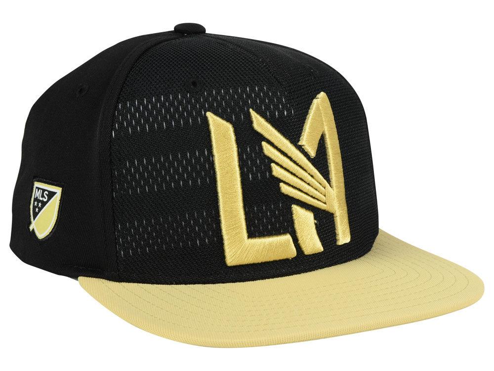 new styles 64c24 bfb69 norway los angeles football club adidas mls authentic snapback cap e7aa6  028ae