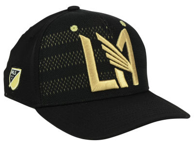Los Angeles Football Club adidas MLS Authentic Flex Cap