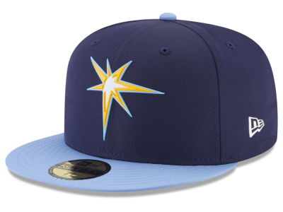 Tampa Bay Rays New Era MLB Batting Practice Prolight 59FIFTY Cap