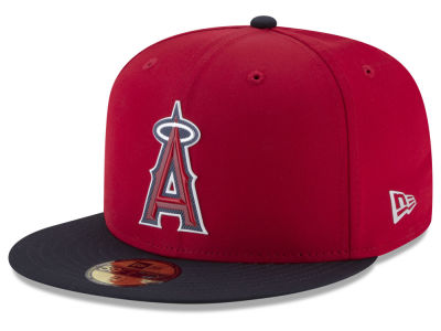 Los Angeles Angels New Era MLB Kids Batting Practice Prolight 59FIFTY Cap