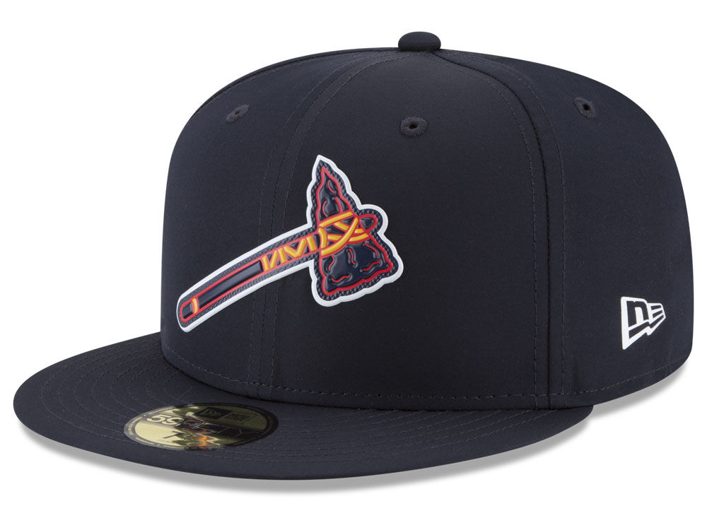 Atlanta Braves New Era MLB Kids Batting Practice Prolight 59FIFTY Cap  01bfc9e0f