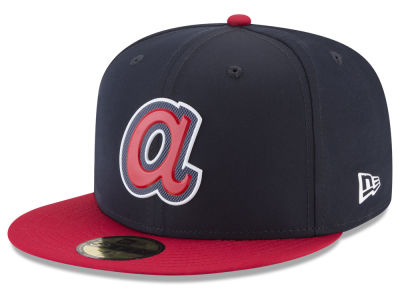 Atlanta Braves New Era MLB Kids Batting Practice Prolight 59FIFTY Cap