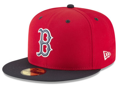 Boston Red Sox New Era MLB Kids Batting Practice Pro Light 59FIFTY Cap