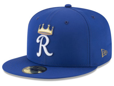 Kansas City Royals New Era MLB Kids Batting Practice Prolight 59FIFTY Cap