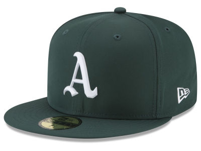 Oakland Athletics New Era MLB Kids Batting Practice Prolight 59FIFTY Cap
