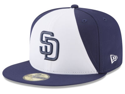 San Diego Padres New Era MLB Kids Batting Practice Prolight 59FIFTY Cap