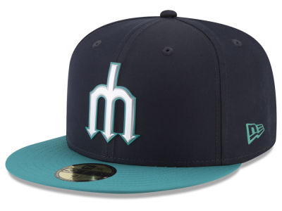 Seattle Mariners New Era MLB Kids Batting Practice Prolight 59FIFTY Cap