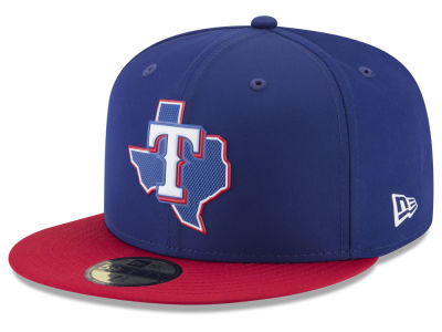 Texas Rangers New Era MLB Kids Batting Practice Pro Light 59FIFTY Cap