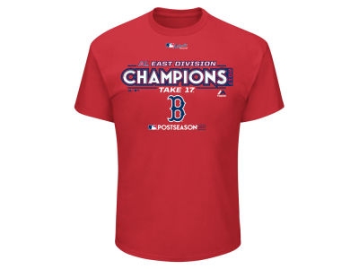 Boston Red Sox Majestic 2017 MLB Men's Division Champ T-Shirt