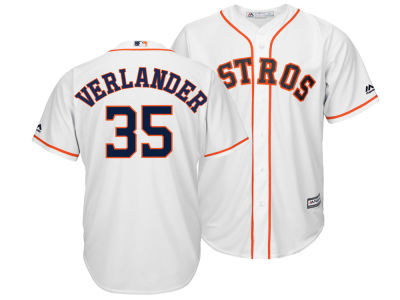 Houston Astros Justin Verlander Majestic MLB Men's Player Replica Cool Base Jersey