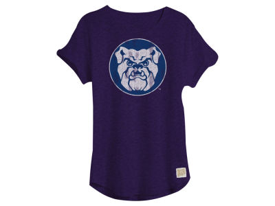 Butler Bulldogs Retro Brand NCAA Women's Slub Rolled Sleeve T-Shirt