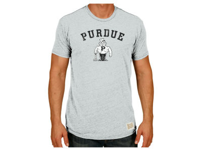 Purdue Boilermakers Retro Brand NCAA Men's Vault Pete With Hammer T-Shirt