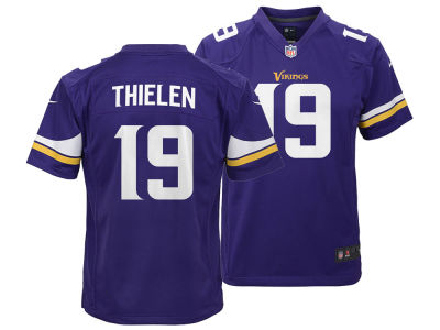 Minnesota Vikings Adam Thielen Nike NFL Youth Game Jersey