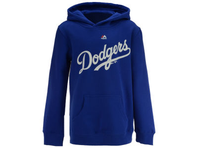 Los Angeles Dodgers Majestic MLB Youth Wordmark Hoodie