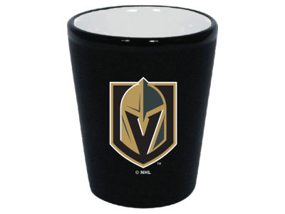 Vegas Golden Knights 2 Tone Ceramic Collectors Glass
