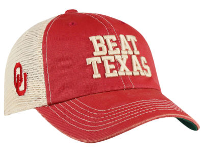 Oklahoma Sooners Top of the World NCAA Beat Texas Meshback Cap