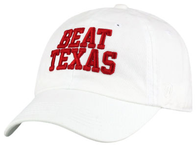 Oklahoma Sooners Top of the World NCAA Beat Texas Crew Adjustable Cap