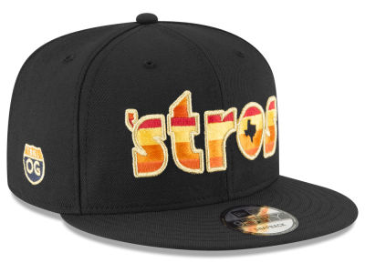 Houston Astros New Era MLB Bun B Collection 2.0 9FIFTY Snapback Cap