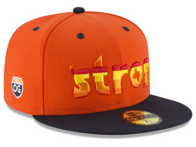 Houston Astros New Era MLB Bun B Collection 2.0 59FIFTY Cap