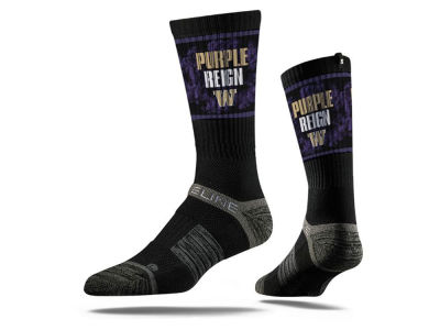 Washington Huskies Strideline NCAA Youth Strideline Crew Socks