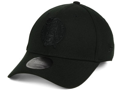 Boston Celtics New Era NBA Blackout 39THIRTY Cap